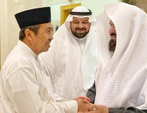 Imam Masjidil Haram Doakan Riau Lebih Baik Dikepemimpinan Gubri Syamsuar