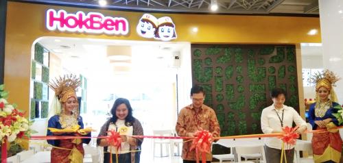 Perdana Hadir di Pekanbaru, HokBen Buka di Living World untuk Memanjakan Lidah Masyarakat Riau