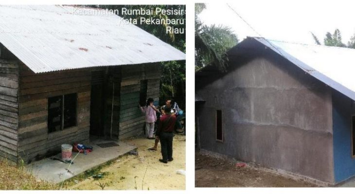 KEMENPUPR beri Bantuan bagi Masyarakat Kelurahan Sungaiambang Pekanbaru