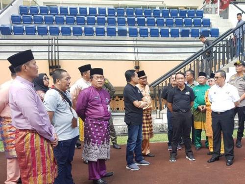 Menpora RI Usulkan Stadion Utama Riau Jadi Tempat Turnamen Uji Coba Skala Internasional