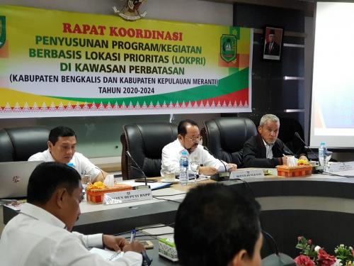 Perjuangkan Program Daerah Perbatasan, Wabup Said Hasyim Pimpin Tim Koordinasi dengan BNPP RI