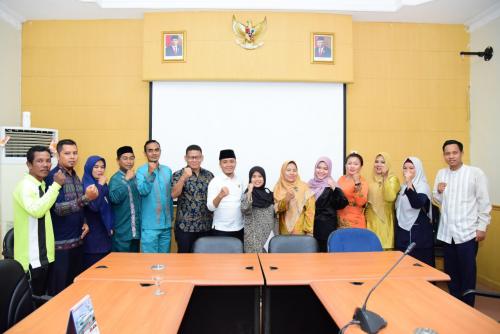 Persatuan GTKHNK 35+ Sampaikan Aspirasi ke DPRD Bengkalis