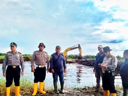 Tujuh Embung Baru di Wilayah Polsek Mandau Terdata di Dashboard Lancang Kuning Polda Riau