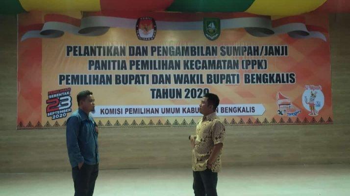 55 Anggota PPK se Kabupaten Bengkalis, Dilantik Esok Pagi