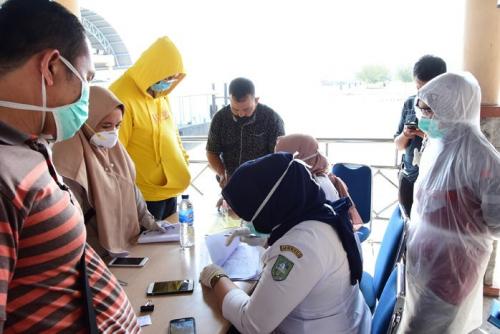 Arus Penumpang dari Malaysia Belum Juga Reda, Hari Ini 186 Orang Tiba di BSL Bengkalis