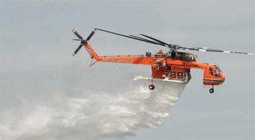Api Mulai Berkobar di Riau, Kementerian LHK Kirim Satu Helikopter Water Bombing ke Riau