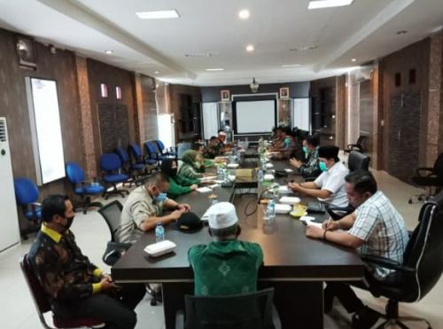 DPRD Rakor bersama Tim Gugus Tugas Covid-19 Kepulauan Meranti, Ini yang Dibahas