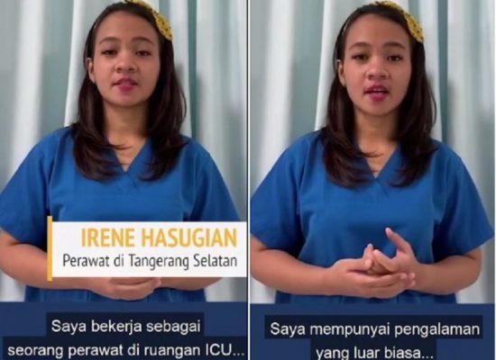 Cerita Haru Perawat Irene Hasugian Tangani Pasien COVID-19 yang Ingin Akhiri Hidup