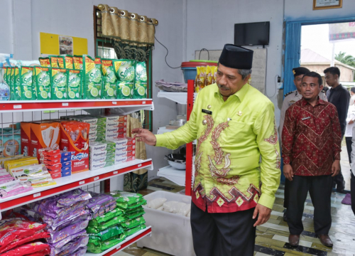 Angkat Ekonomi Masyarakat, Bumkam di Minas Bentuk Mart Syariah Tuah Rezeki