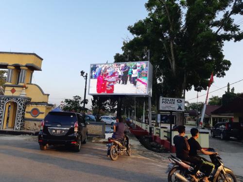 Kominfo Kuansing Pastikan Bintik Hitam di Videotrone Hanya Gangguan Sementara