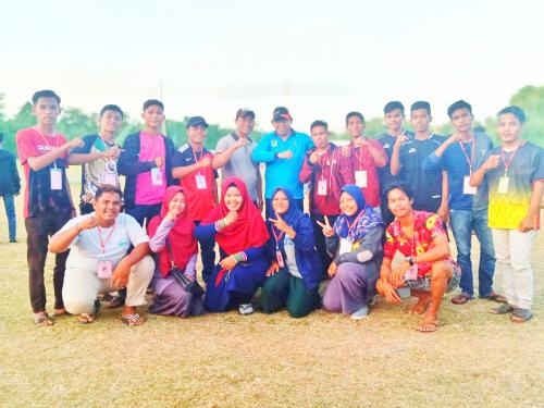 Turnamen Bintang Family Cup I Desa Tanjung Pisang Usai Digelar, Hiu Tanjung FC Jadi Pemenang