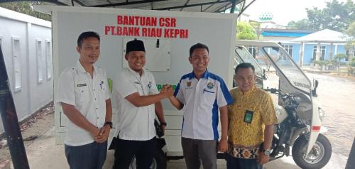Mitra VJ Terima Bantuan Ambulance dari Pemkab Meranti