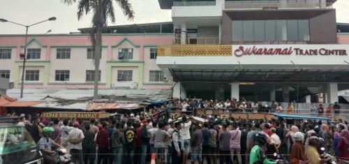 Pedagang STC Akhirnya Diberi Waktu 2 Hari Mediasi